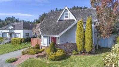 Fortuna Single Family Home For Sale: 576 O Street