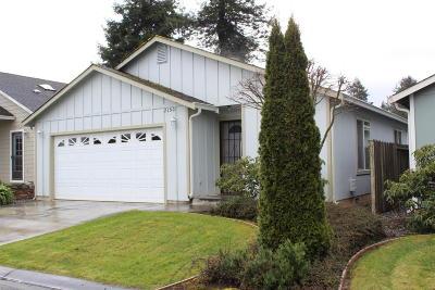 Eureka Single Family Home For Sale: 2150 Foxwood Drive
