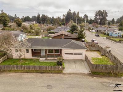 Eureka Single Family Home For Sale: 4615 Excelsior Road