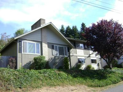 Fortuna Single Family Home For Sale: 1090 Vista Drive