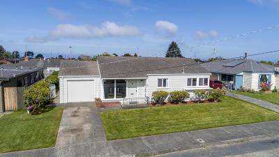 Eureka Single Family Home For Sale: 2950 Williams Street