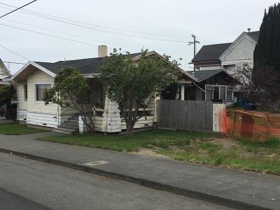 Eureka Single Family Home For Sale: 805 H Street