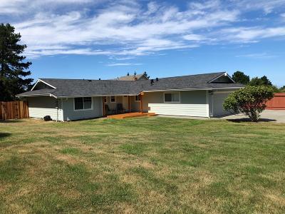 Eureka Single Family Home For Sale: 7084 Humboldt Hill Road