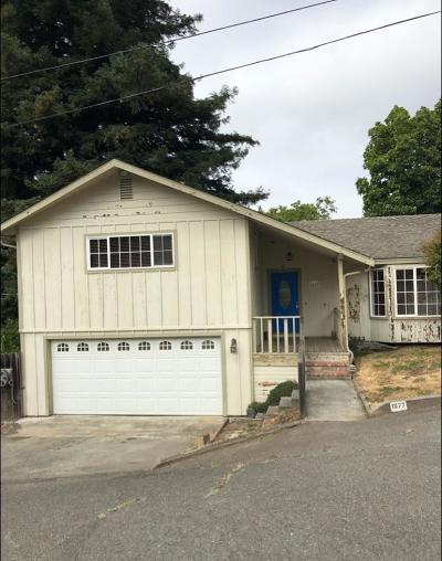 Eureka Single Family Home For Sale: 1677 Lori Lane