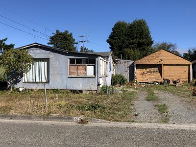 Eureka Single Family Home For Sale: 4471 Excelsior Road
