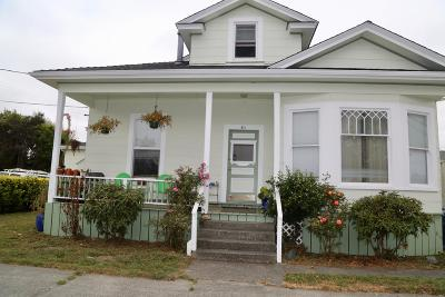 Arcata Multi Family Home For Sale: 511 & 513 J Street