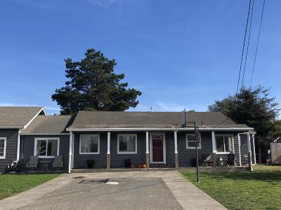 McKinleyville Single Family Home For Sale: 1120 Three Cabins Lane