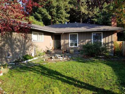 Eureka Single Family Home For Sale: 4339 Ridgecrest Drive