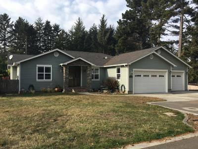 McKinleyville Single Family Home For Sale: 1233 Sylvan Place