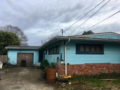 Mckinleyville Single Family Home For Sale: 1533 Whitmire Avenue