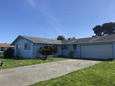 Arcata Single Family Home For Sale: 3123 Brian Court