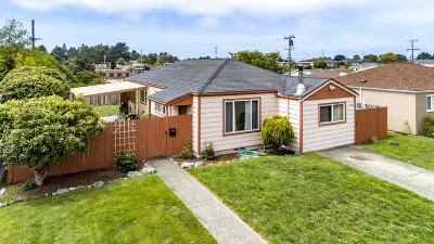 Eureka Single Family Home For Sale: 3336 Glen Street