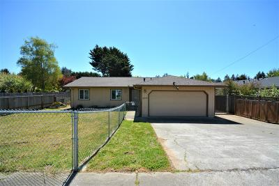Mckinleyville Single Family Home For Sale: 2346 Sutter Road