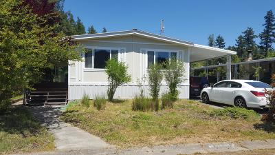 Redway CA Mobile/Manufactured For Sale: $150,000