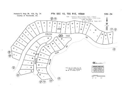 Whitethorn  Residential Lots & Land For Sale: 6975 Shelter Cove Road