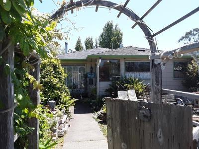 Eureka Single Family Home For Sale: 2526 7th Street