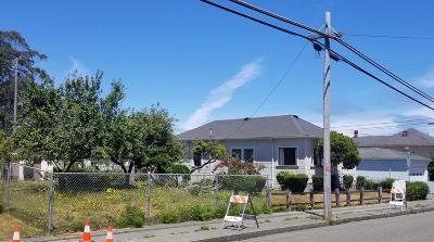 Eureka Single Family Home For Sale: 2156 Fairfield Street