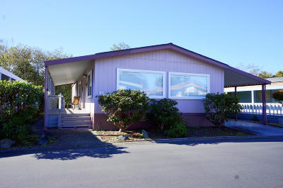McKinleyville CA Mobile/Manufactured For Sale: $121,000