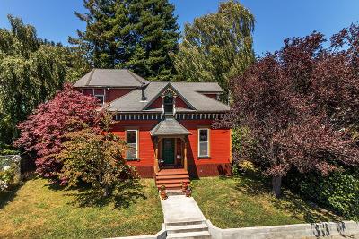 Fortuna Single Family Home For Sale: 658 O Street