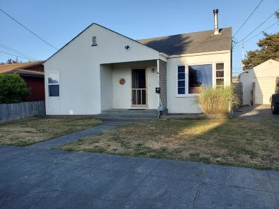 Eureka Single Family Home For Sale: 2155 Spring Street