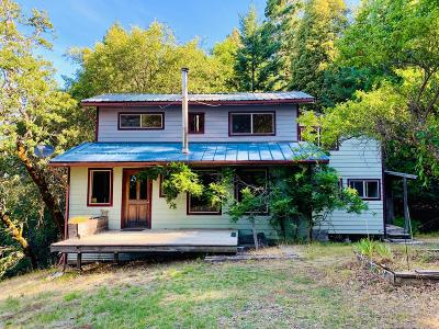 Garberville Single Family Home For Sale: 1451 Ross Road