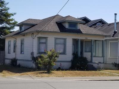 Eureka Single Family Home For Sale: 1703 West Avenue