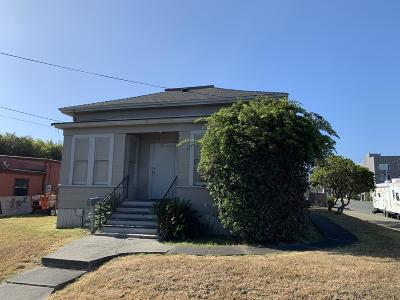Eureka Single Family Home For Sale: 2104 2nd Street