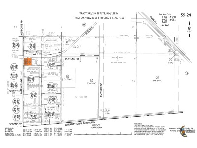 Calexico Commercial Lots & Land For Sale: 1100 E Birch