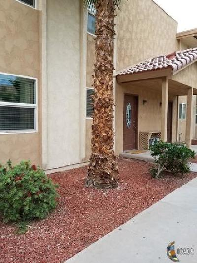 Brawley Single Family Home For Sale: 650 N Imperial Ave Unit #25
