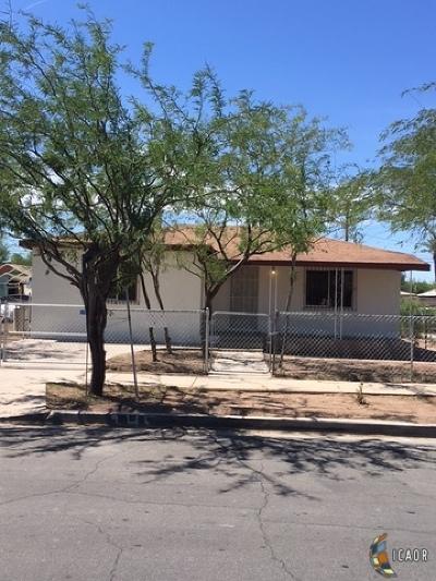 El Centro Single Family Home For Sale: 245 E Brighton Ave
