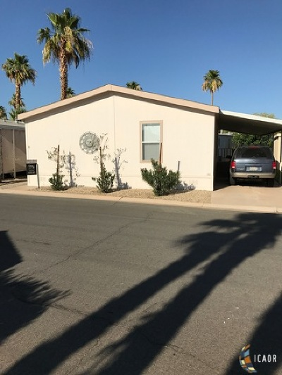 El Centro Mobile Home For Sale: 1630 W Adams Ave Ave