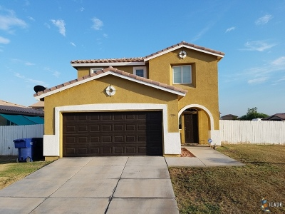 Calexico Single Family Home For Sale: 1216 D Hinojosa St