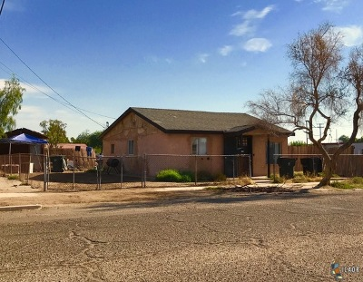 Calexico, Imperial Single Family Home For Sale: 109 W 10th Rd