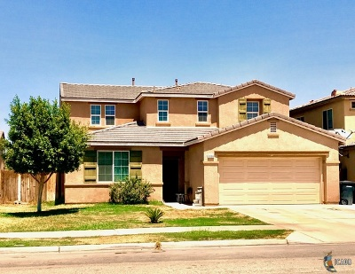 El Centro Single Family Home For Sale: 1098 Skyview Ave
