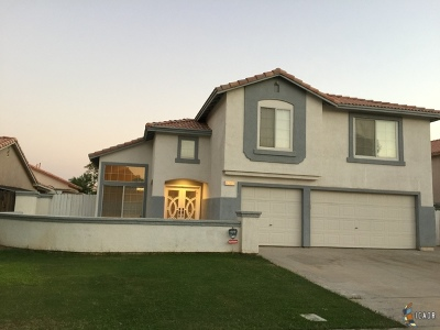 Brawley Single Family Home For Sale: 1036 Ronald St