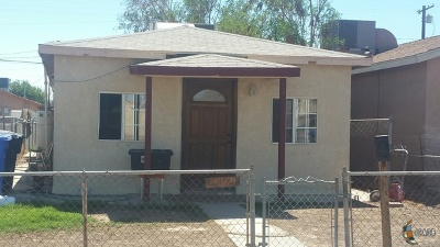 El Centro Single Family Home For Sale: 187 E Orange Ave