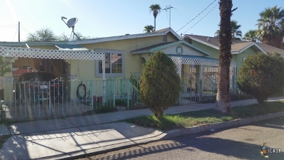 Calexico Single Family Home Contingent: 219 Blair Ave