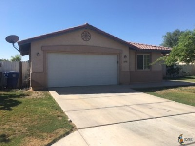 Calexico Single Family Home For Sale: 1232 A C Nogales St