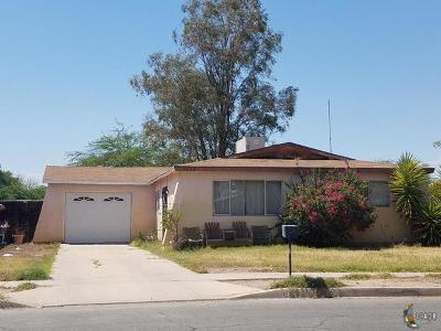 El Centro Single Family Home Contingent: 1270 N Waterman Ave