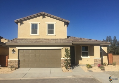 Brawley Single Family Home For Sale: 344 Marigold Pl