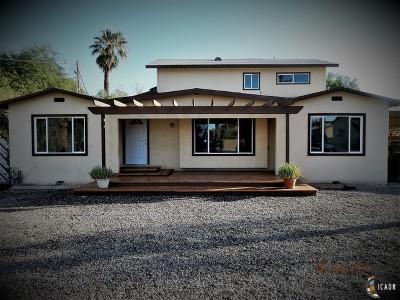 El Centro Single Family Home For Sale: 1703 W Barbara Worth Dr
