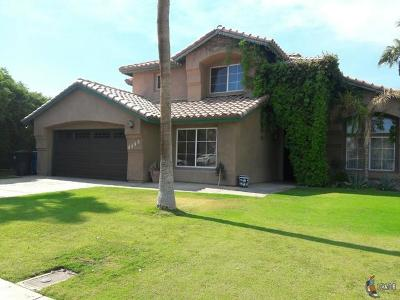 Calexico Single Family Home For Sale: 1225 Fiesta Ave