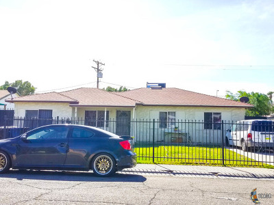 Calexico CA Single Family Home For Sale: $210,000