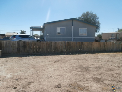 Brawley Single Family Home For Sale: 1658 E River Dr