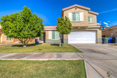 El Centro Single Family Home For Sale: 1160 Meadowview Ave