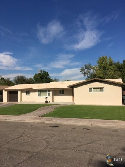 Calexico Single Family Home For Sale: 449 Clarke St
