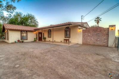 El Centro Single Family Home For Sale: 2039 Low Rd