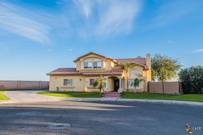 Calexico Single Family Home For Sale: 1254 Holdridge St