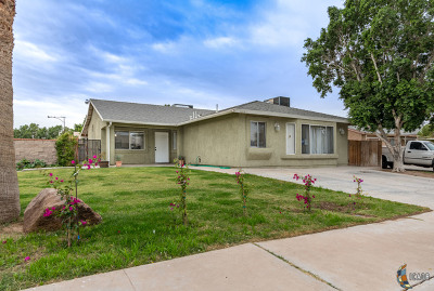 Calexico Single Family Home Contingent: 1012 W Sherman St