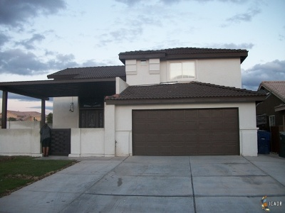 Calexico Single Family Home For Sale: 2266 Camino Dr